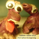 babble rabbit blue - from before the beginning