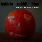 babble rabbit blue - one and one is one