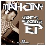 Mahony - Geht's Rebondir EP (Mahony)