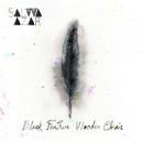 Salwa Azar - Black Feather Wooden Chair