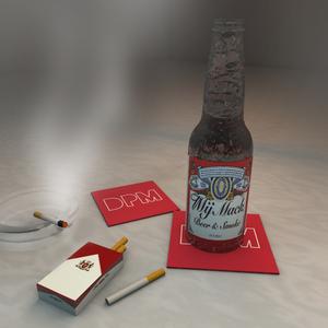 Mij Mack - Beer & Smoke (PVC Remix)