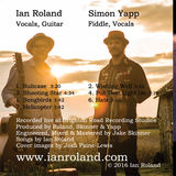 Ian Roland & The Subtown Set - Suitcase - a live collection