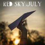Red Sky July - Jet Trails