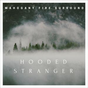 Mahogany Fire Surround - Hooded Stranger