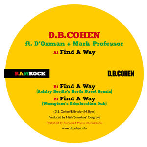 D B Cohen - Find a way - Wrongtom's 'Echolocation' Dub