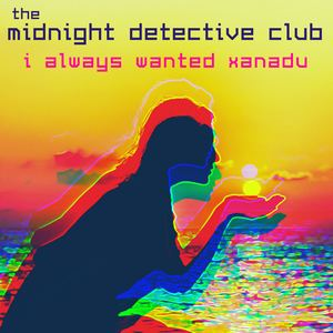 Replay in Neon - The Midnight Detective Club - Black and White Mirror