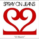 Spray on Jeans - 22 Hearts