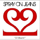 Spray on Jeans - 22 Hearts