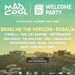Mad Cool - Welcome Party 2019