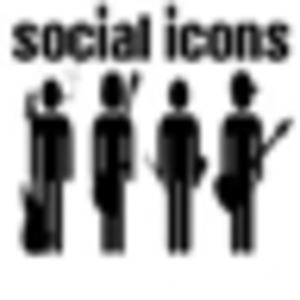 Social Icons - Dirty Rock 'n' Roll