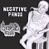 Negative Panda - Bearded Man