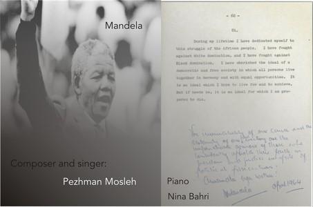 Professor Pezhman Mosleh - Mandela