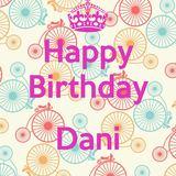 Jilk - Happy Birthday Dani - Jilk and Haiku Salut