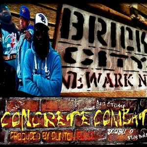 050 Boyz - Concrete Combat (radio edit) featuring Dunn D, Big Stomp, Double O & Fly Kwa (produced by Clinton Place)