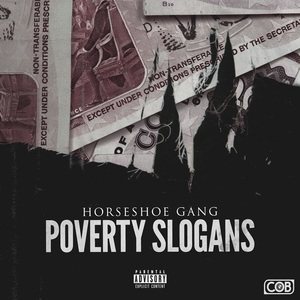 Horseshoe Gang - Poverty Slogans (radio edit produced by Jonathan Elkaer & DJ E.D.D.E.H.)