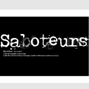 Saboteurs - Sentenced To Life