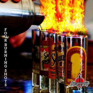Fourcast - Four Burning Shots