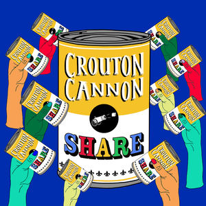 Crouton Cannon - Share