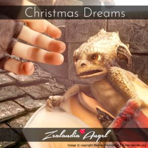 Zealandia Angel - Christmas Dreams