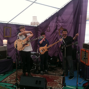 Amazing Radio at Festibelly - Colin and Matt with Francis Day