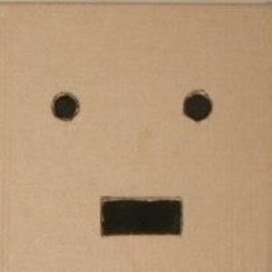 Box Face Man